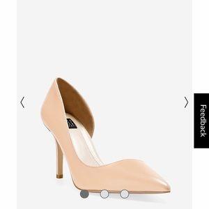 White House Black Market Ella beige Heel Size 7.5